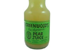 Greenwoods Biodynamic Pear Juice
