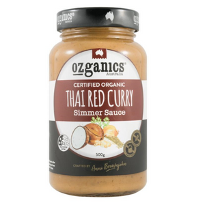 Sauce - Ozganics Thai Red Curry 500g