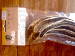 Tusks Organic Dried Bananas