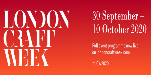 londoncraftweek - 300 objects exhibition, 1-10 Oct. 2020
