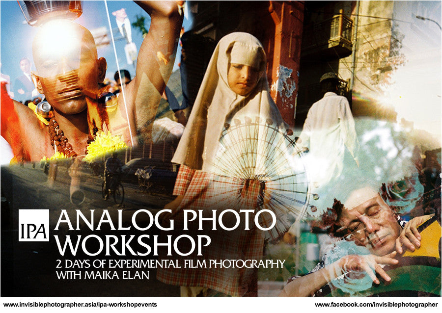 Experimental Analog Photo Workshop with Maika Elan