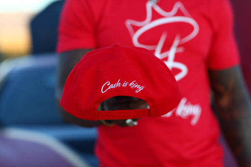 Cash is King Logo SnapBack