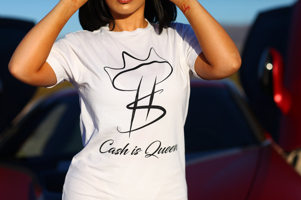 Cash Is Queen Logo T-shirt
