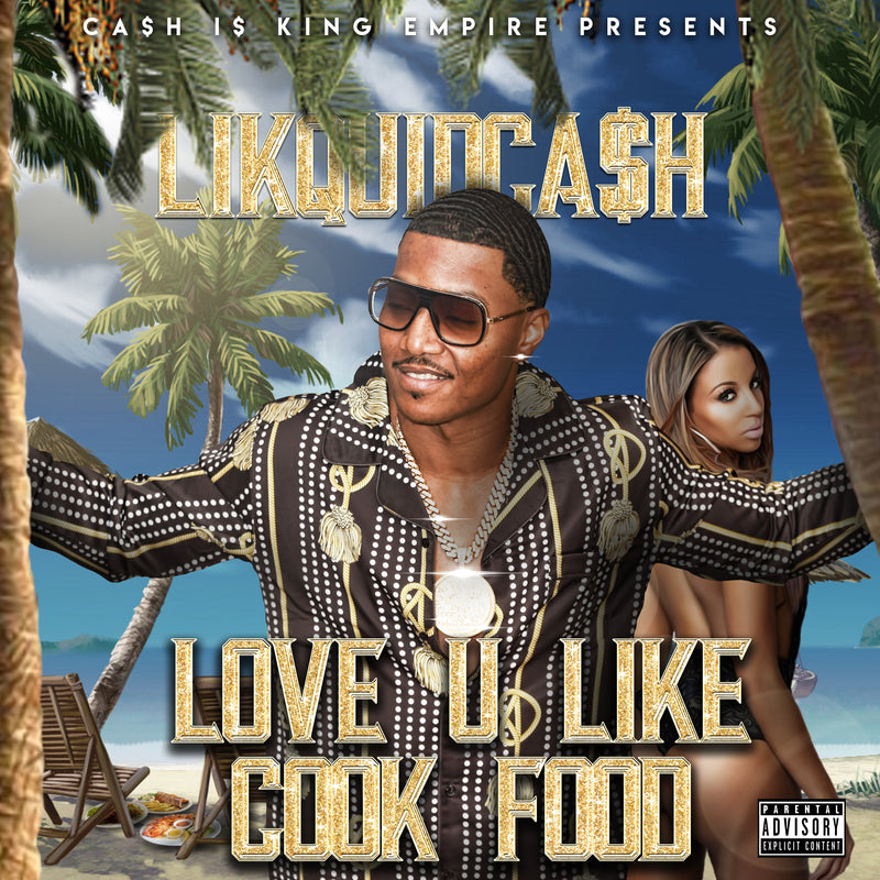 "LUV U LIKE COOK FOOD ""SINGLE"""