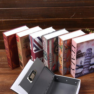 Large Book with Hidden Security Security (Key Lock)