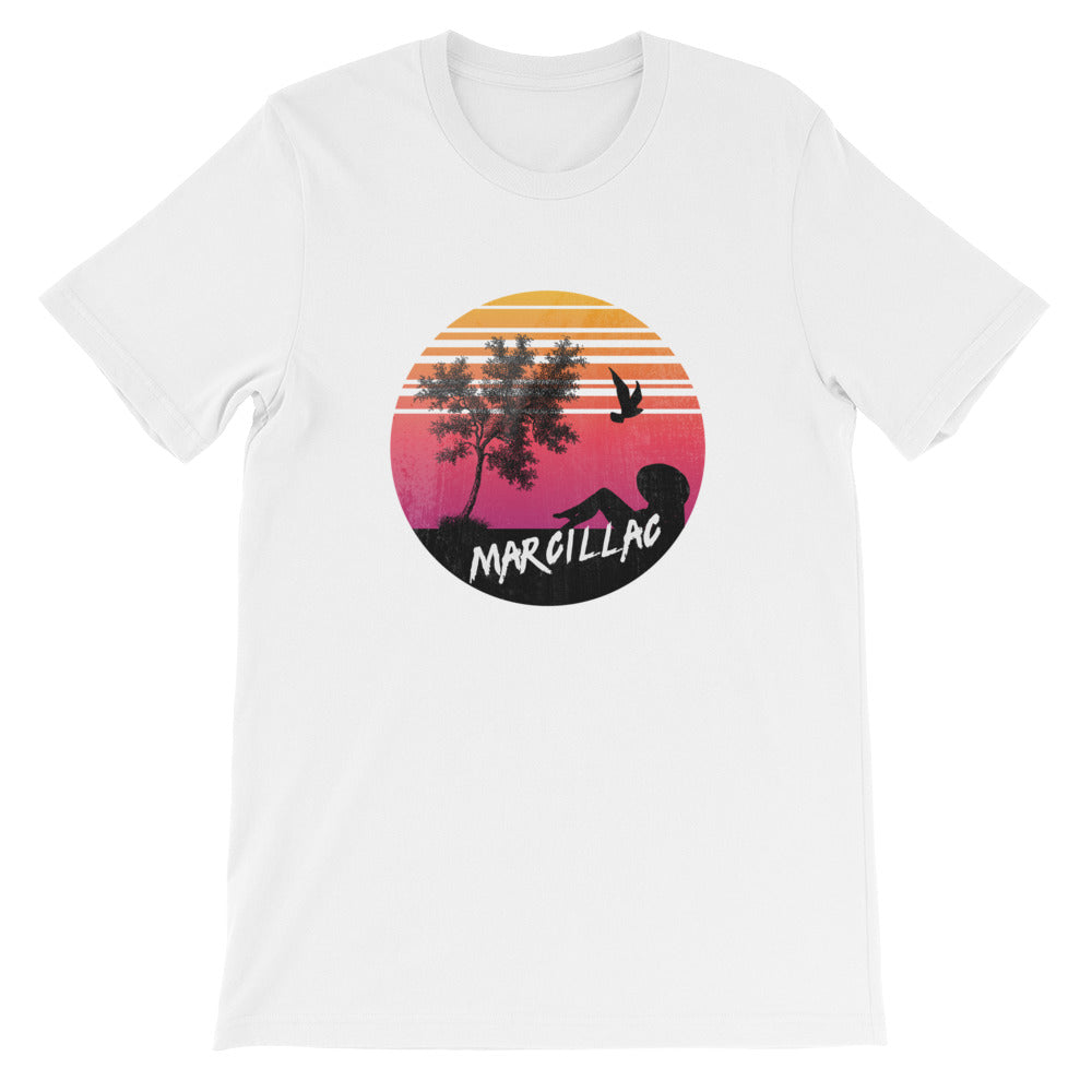 SUNSET MARCILLAC - Tee shirt homme - col rond illustration imprimé