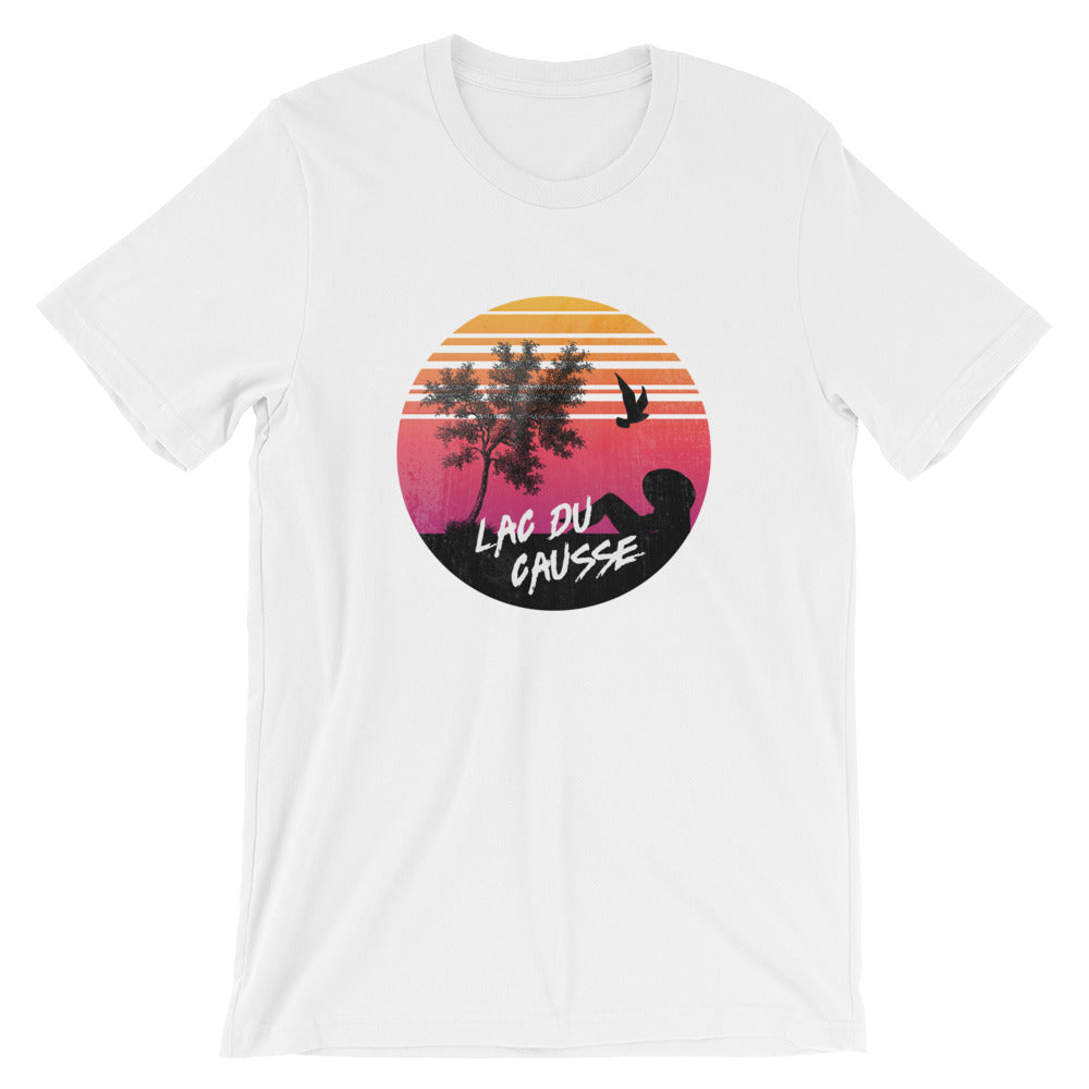 SUNSET CAUSSE - Tee shirt homme - col rond illustration imprimé