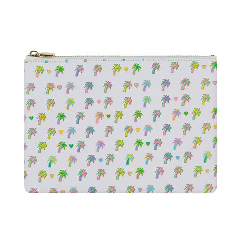 Palm Dreams Flat Pouch
