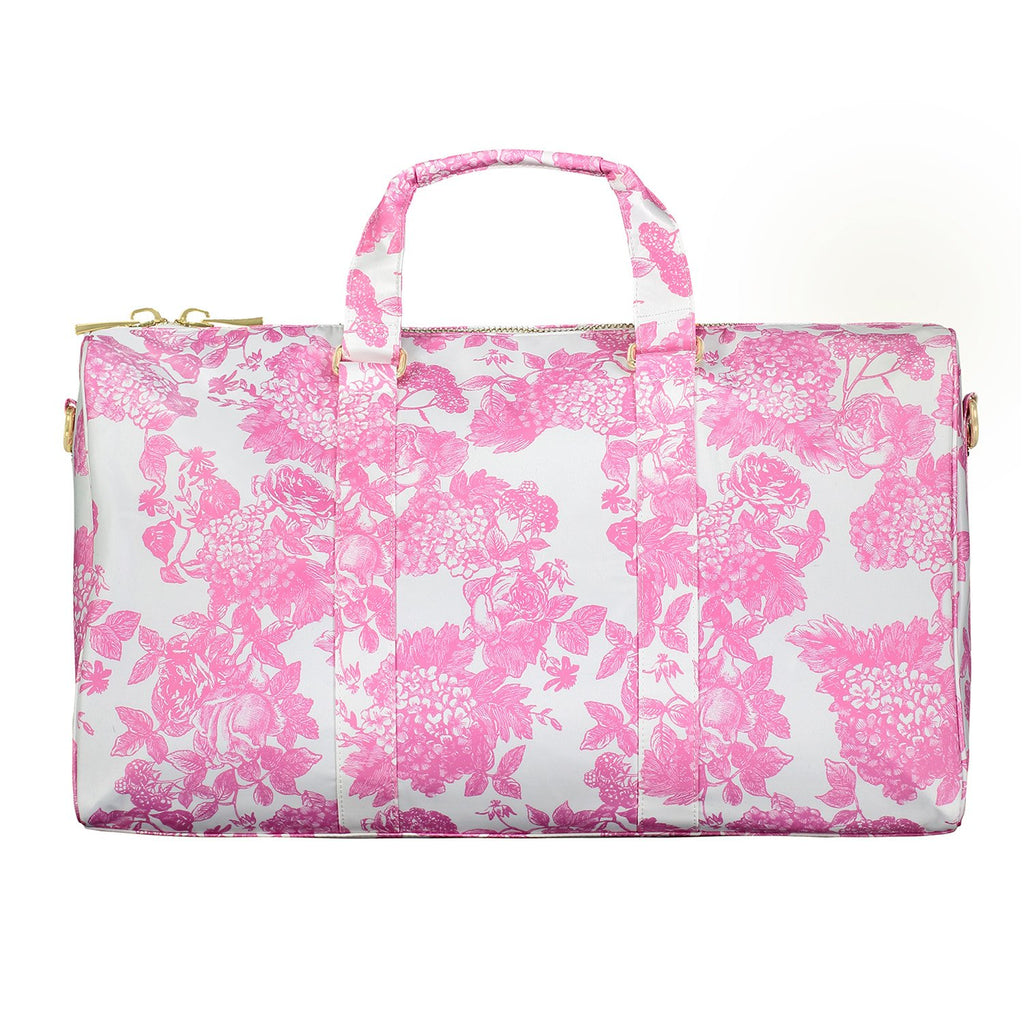 LoveShackFancy x Stoney Clover Lane Pink Gem Duffle Bag