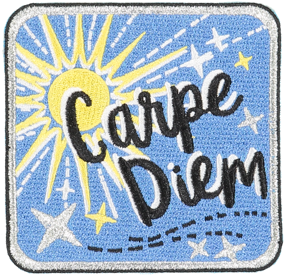 Carpe Diem Sticker Patch