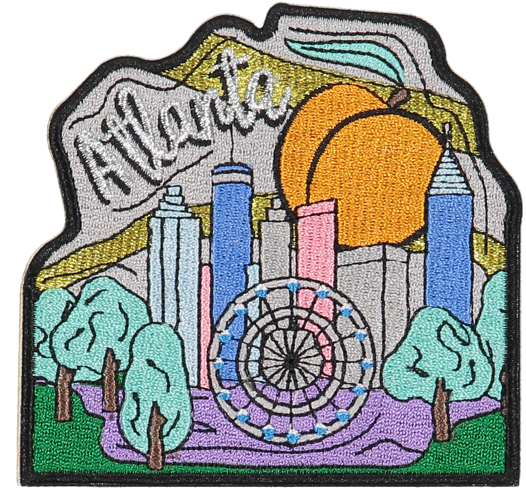 Atlanta Sticker Patch