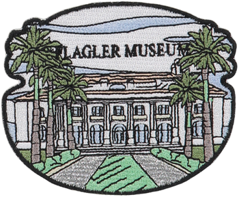 Flagler Museum Sticker Patch