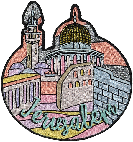 Jerusalem Sticker Patch