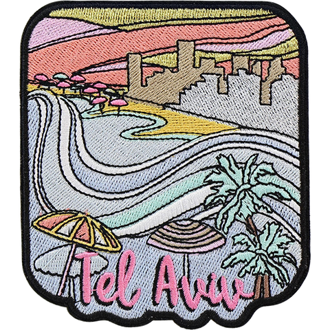 Tel Aviv Sticker Patch