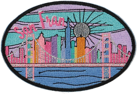 San Francisco Sticker Patch