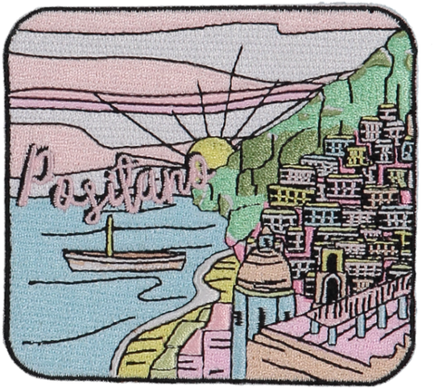 Positano Sticker Patch