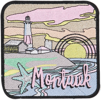 Montauk Sticker Patch