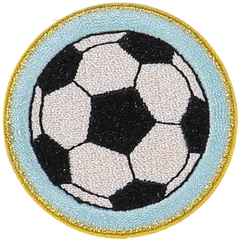 Soccer Ball Sticker Patch