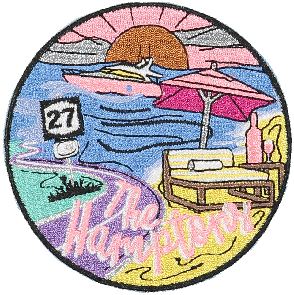 Hamptons Sticker Patch