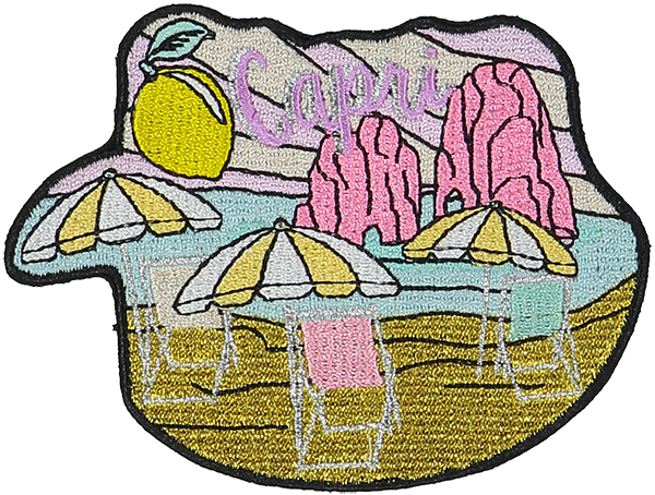 Capri Sticker Patch