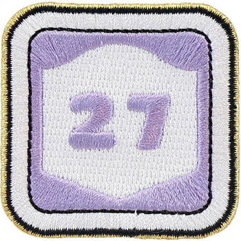 Route 27 Sticker Patch