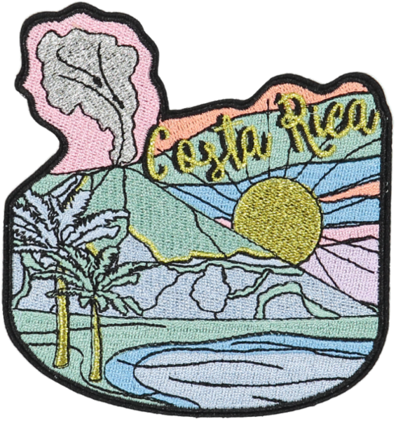 Costa Rica Sticker Patch