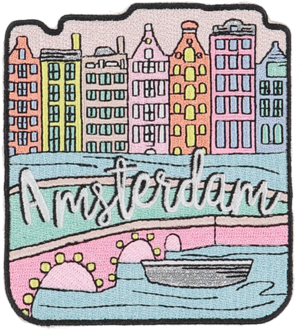 Amsterdam Sticker Patch