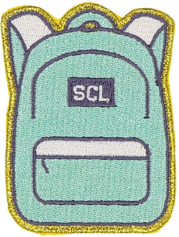 SCLU Backpack Sticker Patch