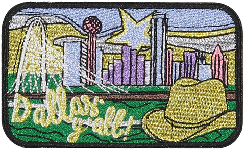 Dallas Sticker Patch