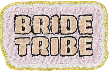 Bride Tribe Sticker Patch