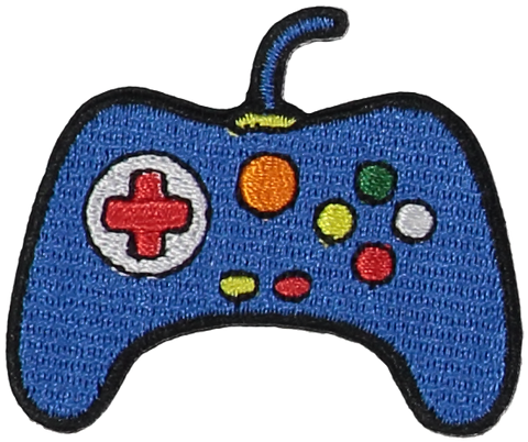 Primary Video Game Controller Sticker Patch