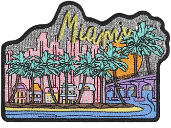 Miami Sticker Patch