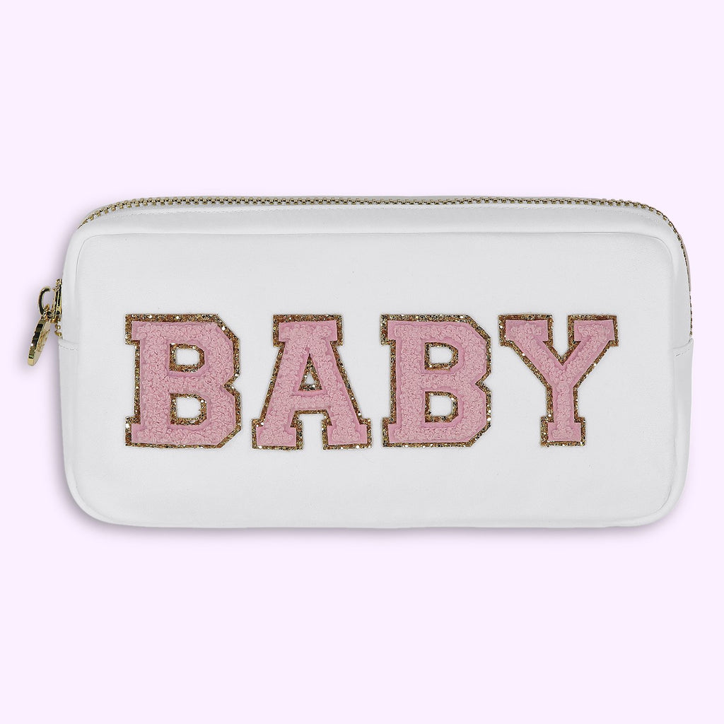 Blanc 'Baby Girl' Small Pouch
