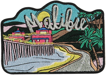 Malibu Sticker Patch