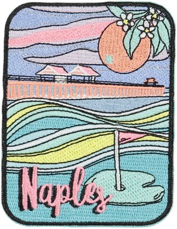Naples Sticker Patch