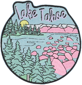 Lake Tahoe Sticker Patch