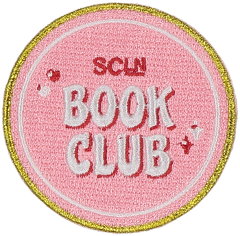 SCL Book Club Sticker Patch