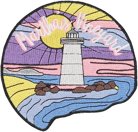 Martha's Vineyard Sticker Patch