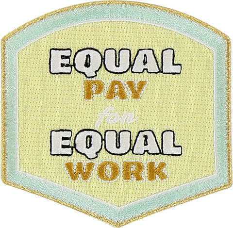 Equal Pay Sticker Patch