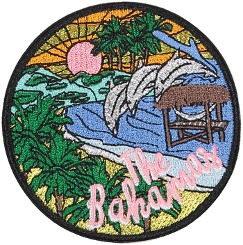 Bahamas Sticker Patch