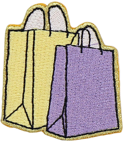 Shopping Bags Sticker Patch