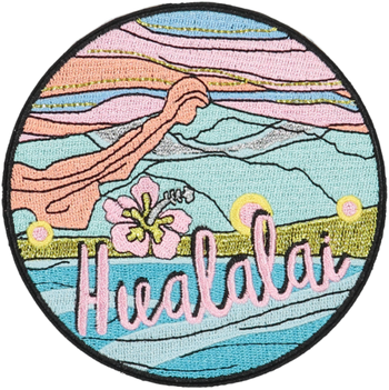Hualalai Sticker Patch