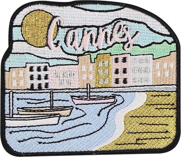 Cannes Sticker Patch