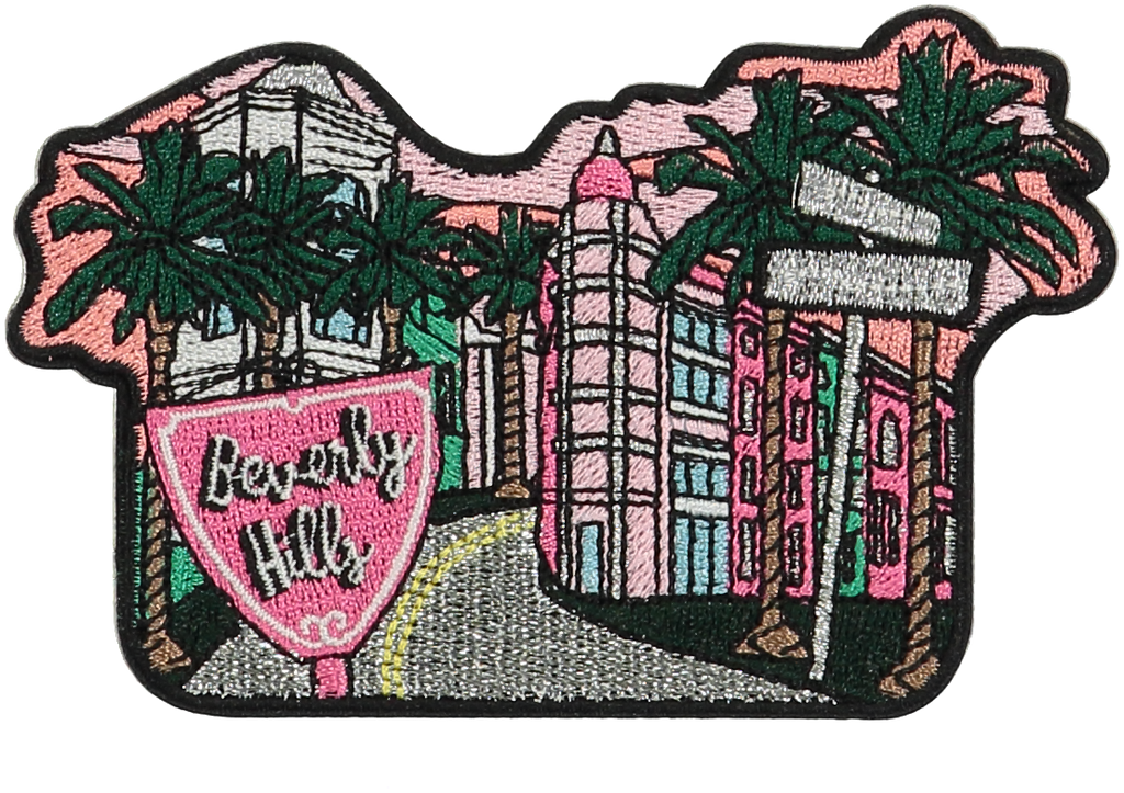 Beverly Hills Sticker Patch