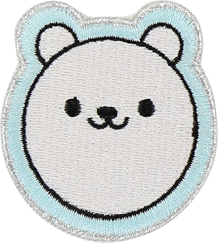 Polar Bear Sticker Patch