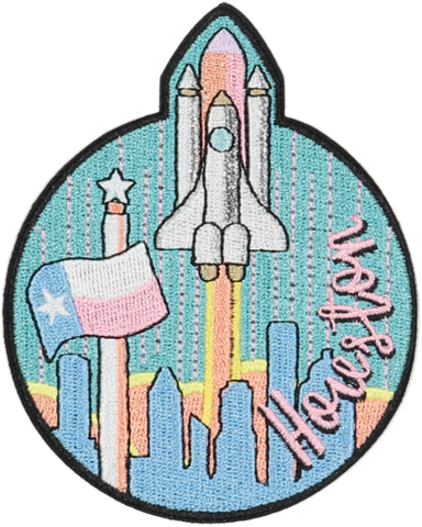Houston Sticker Patch
