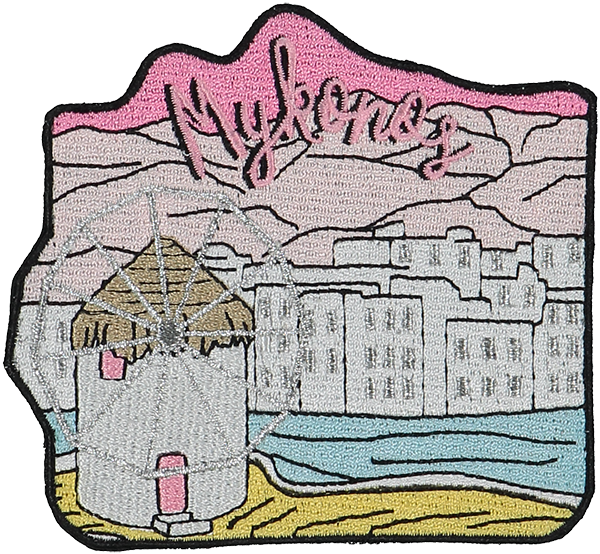 Mykonos Sticker Patch