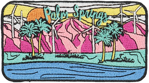 Palm Springs Sticker Patch