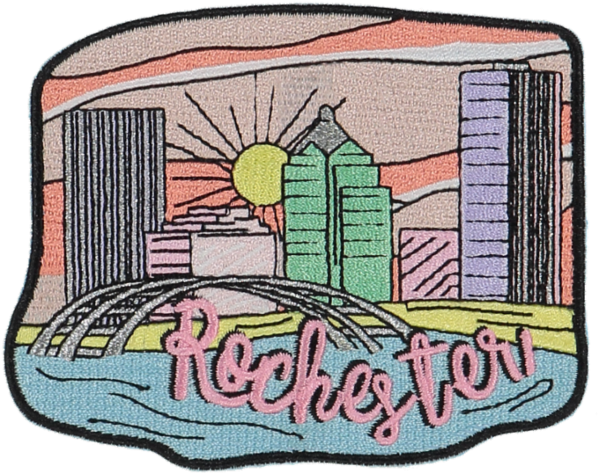 Rochester Sticker Patch