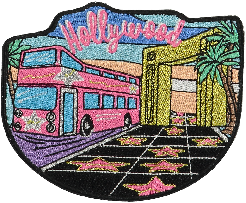 Hollywood Sticker Patch